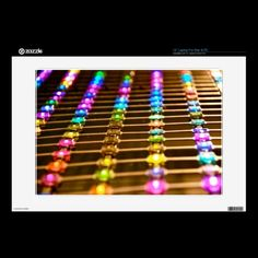 LED Abstraction Laptop Skin for PC or Mac.  By Texas Eagle Gallery on Zazzle