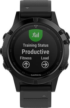 Garmin - fēnix® 5 Sapphire GPS Heart Rate Monitor Watch Bundle - Black with Black Band