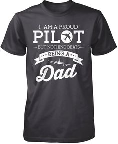 Short Sleeve Shirts Pilot Powered by Coffee Tee Shirt