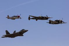 Heritage Flight of Four Photograph