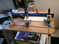 Download Free Plans – Drill Press Table for Woodworking ...