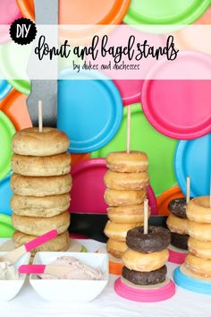 DIY donut and bagel