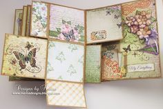 Designs by Marisa: Heartfelt Creations - 3D Flip Fold Album