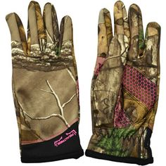 Realtree Women's Midweight Gloves, Realtree Xtra