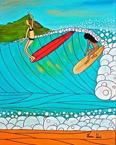 2577d6df4df53 10 melhores imagens de Surf Art