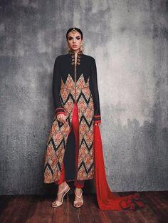 New Designer Kameez Bollywood Salwar Indian Suit Dress Ethnic Anarkali Pakistani #TanishiFashion #Designer
