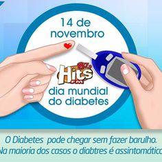 O Dia Mundial da Saúde de 2016 enfoca o combate ao diabetes uma doença crônica que atinge 62 milhões de pessoas nas Américas o que representa um em cada 12 pessoas. A maior parte dos casos de diabetes entretanto está ligada a fatores comportamentais e estilo de vida e é portanto passível de prevenção.#FmHits #hitsfm