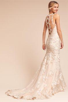 Bhldn S Catherine Deane Kameron Gown In Cream Wedding Dress