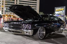 "This 1000+HP Whipple Supercharged Mast Motorsports 427ci LSX-powered '70 Chevelle was a GM Design Award winner (for ""Best Chevrolet G-Machine""), at the 2015 SEMA Show. It rides on @detroitspeedinc suspension, Michelin Pilot Super Sport tires, and Forgeline ZX3P wheels finished with Titanium centers & Polished outers. See more at: http://www.forgeline.com/customer_gallery_view.php?cvk=1491  #Forgeline #ZX3P #notjustanotherprettywheel #madeinUSA #Chevy #Chevelle #SEMA2015 #SEMAShow #Chevrolet"