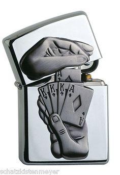Original Zippo Trick Poker Lighter Very RARE Special Edition Casino Edition