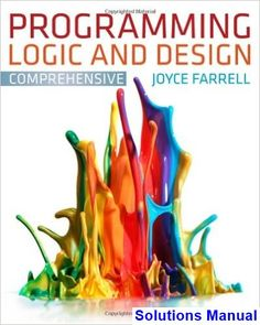 23 best solutions manual download images on pinterest textbook programming logic and design comprehensive 7th edition joyce farrell solutions manual test bank solutions fandeluxe Images