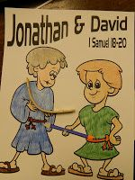 Hands On Bible Teacher: Best Friends: David and Jonathan David Und Jonathan, David And Jonathan Friendship, David Y Jonatán, Roi David, King David, Toddler Bible Lessons, Preschool Bible Lessons, Bible Activities For Kids, Bible For Kids