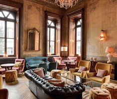 Soho House Istanbul Curtains had been increasingly under siege now for ages -… Soho House Istanbul, Soho Loft, Restaurant Hotel, Restaurant Design, Cafe Interior Design, Cafe Design, Loft Cafe, Soho Farmhouse, Studios