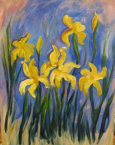 """Van Gogh Vino """"Monet's Yellow Irises"""""""