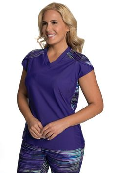 471cbbef56 Petal Cap Sleeve Swim and Sport Shirt