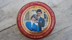 Vintage Collectable  Lady Diana Wedding Tin by SycamoreVintage, $24.00