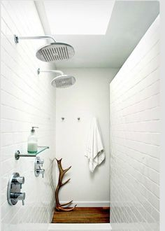 Simple Double shower