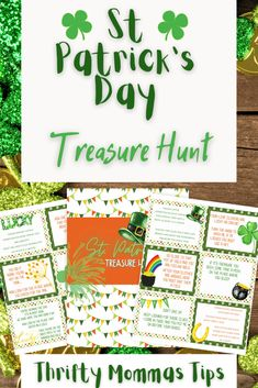 How to Hold a St. Patrick's Day Treasure Hunt Now! - Thrifty Mommas Tips Family Movie Night, Family Movies, Baking Store, Chocolate Coins, Pot Of Gold, Kids Prints, Craft Items, St Patricks Day, Dollar Stores