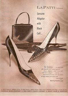 1961 shoe ad