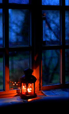 I'm always dreaming of a warm glowing light in the windows of home welcoming me in an enveloping embrace. ARH