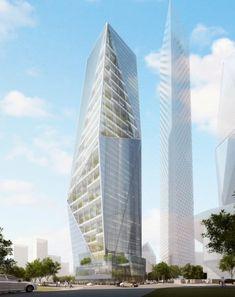 Harmony Tower by Studio Daniel Libeskind