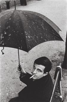 Francois Truffaut, Paris, 1959 (Photo: Jeanloup Sieff)