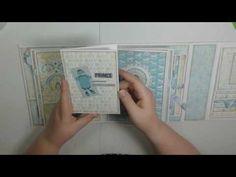 Baby Mini Album, Mini Album Tutorial, Junk Journal, Journal Ideas, Snow Fun, Country Crafts, Altered Books, Mini Books, Mini Albums