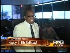A Valley super-centenarian celebrates his birthday and reveals the top five foods to live a long, healthy life. Healthy Life, Centenarian, Shit Happens, Learning, Celebrities, Birthday, Happy, Books, Live