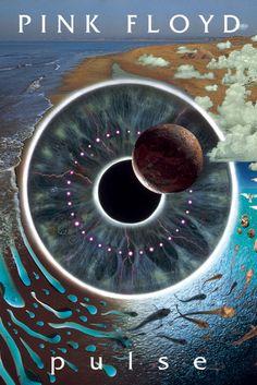 Pink Floyd Pulse música cartel impresión Classic Rock Band Nuevo 24 X 36