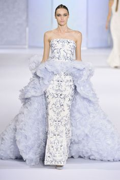 Ralph & Russo. Beautiful colour and fabric.