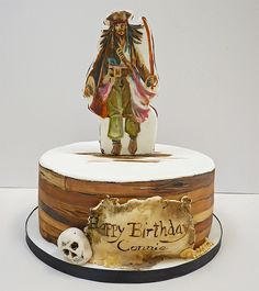 Jack Sparrow Cake by neviepiecakes, via Flickr