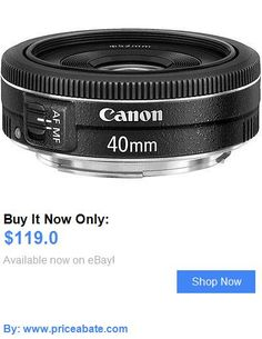 Camera Photo: Canon Ef 40Mm F/2.8 Stm Pancake Lens Black New BUY IT NOW ONLY: $119.0 #priceabateCameraPhoto OR #priceabate