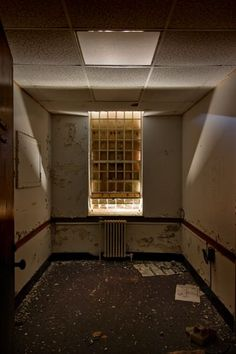 Gaebler Children's Center, Waltham, MA was a 160 bed psych unit for seriously disturbed children under the age of Abandoned Asylums, Abandoned Places, Childrens Hospital, Parenting, Psych, Lighting, Architecture, Decay, Mental Health
