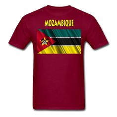 This Mozambican Flag T-Shirt For Men is always on sale at PersonalziedSouvenirs.com.