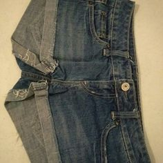 AE jeans Blue jeans  Perfect condition American Eagle Outfitters Shorts Jean Shorts