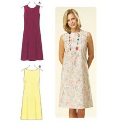 Kwik Sew 3598  Fitted Sleeveless Dresses