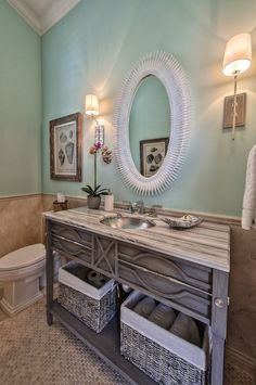 coastal bathroom | Calusa Construction