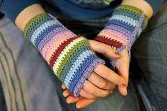 Resultado de imagen para granny square mittens