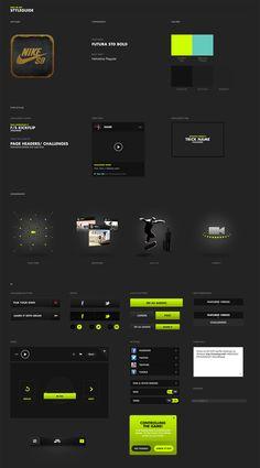 Nike SB App - Hoshi Ludwig - Direction and Design