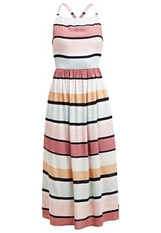 Sukienka letnia - muticoloured stripes