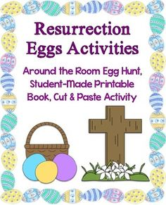 Engaging activities that reinforce and review the Easter story as told with Resurrection Eggs that can be purchased or made separately.  Activities include an around the room Resurrection Egg hunt, a printable student-made book, a cut and paste activity, and answer keys.