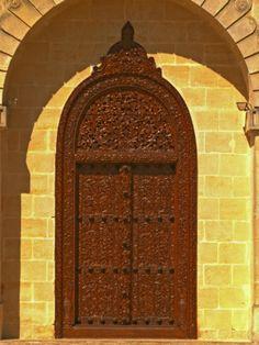 Entrance to Winery at Cos d'Estournel, Oriental Style, Saint St. Estephe, Medoc, Bordeaux, France