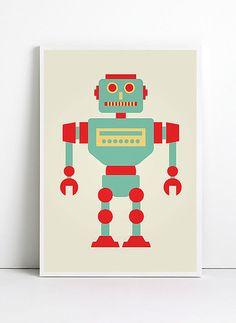 retro art print for children - Sök på Google