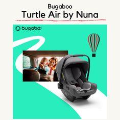 Il nuovo Bugaboo Turtle Air by Nuna è il seggiolino auto che ti permette di passare dall'auto al passeggino, e viceversa, per spostamenti senza pensieri. Leggero, facile, sicuro.. è tutto quello che ti serve per goderti il viaggio. Design ultra-leggero ma resistente: con un peso inferiore a 3 kg è facile da sollevare e trasportare. Vieni a trovarci per saperne di più. Bugaboo, 3, Baby Car Seats, Turtle, Children, Design, Young Children, Turtles, Boys