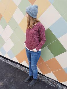 #linden #linden sweatshirt #grainline studio #elvelyckan #elvelyckandesign