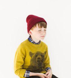 Image 1 of Long bear sweatshirt from Zara