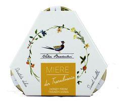 Упаковка для трех баночек цветочного меда с моими цветочками