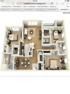 Apt. 306 Floor Plan