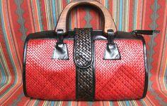 brandylovesvintage: selling: woven mat bags - bulk/lot