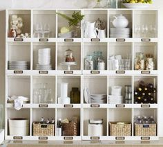 These are the cubbies from Pottery Barn!!  My Dad built exact replicas for us.  I'm thinking these would look amazing painted with Annie Sloan's chalk paint.  :)